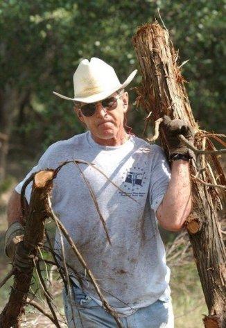 President Bush hard at work