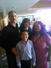 Jeff, Veronica, Adonai and me.